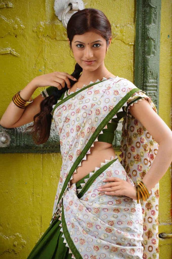 Ruby parihar half saree photos