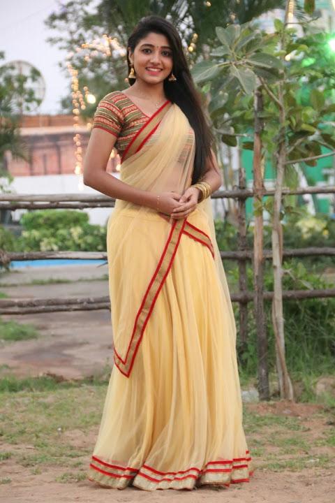 Adithi menon glamour yellow stills