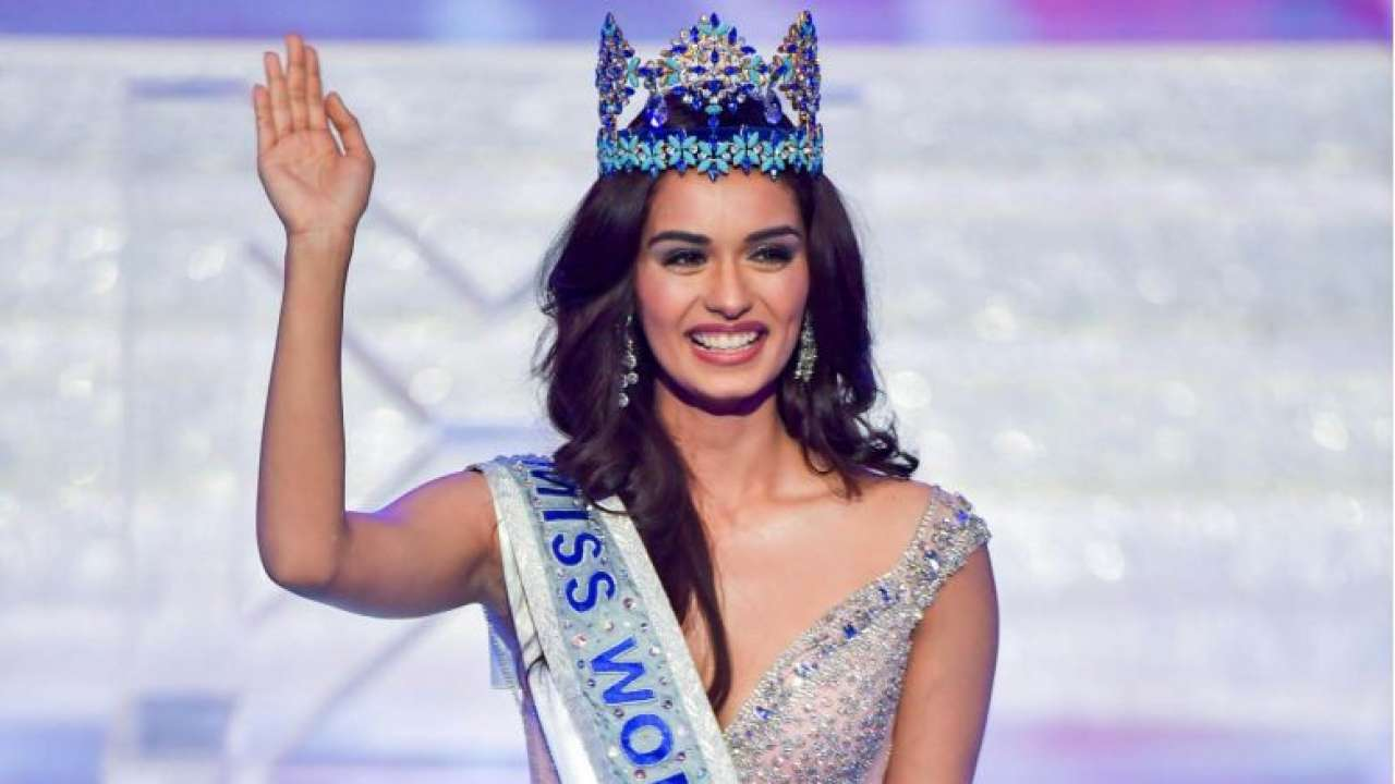 Manushi chhillar miss world 2017 photos