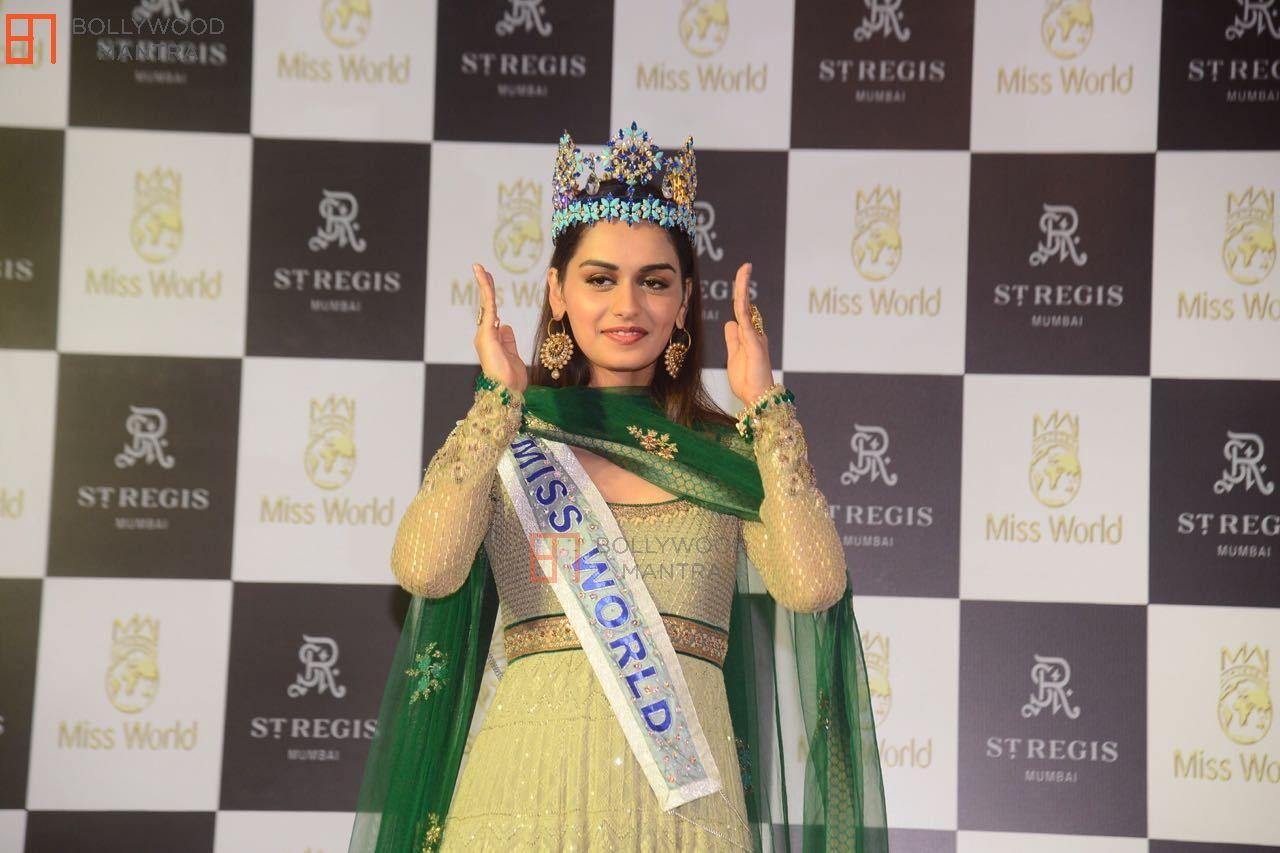 Manushi chhillar miss world 2017 stills