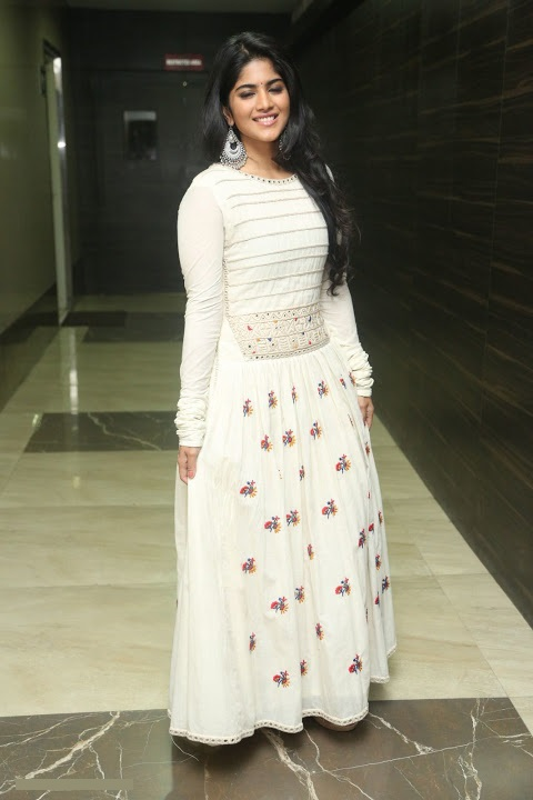 Megha akash white dress cool pictures