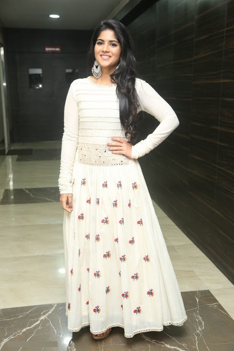 Megha akash white dress exclusive wallpaper