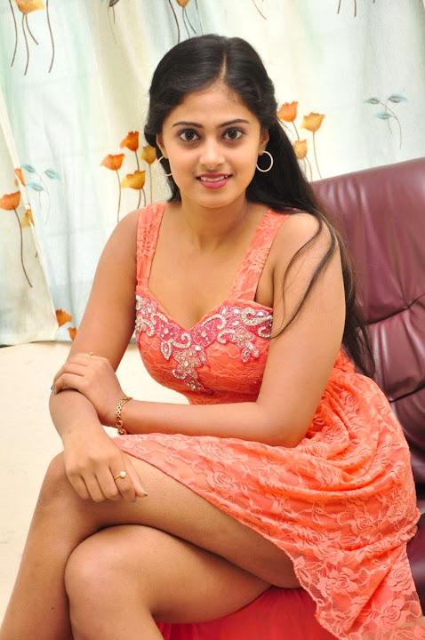 Megha sri pink color dress wallpaper