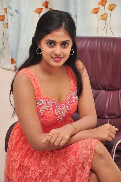 Megha sri pink dress image