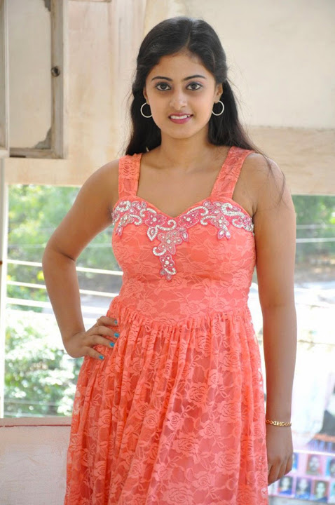 Megha sri pink dress photos