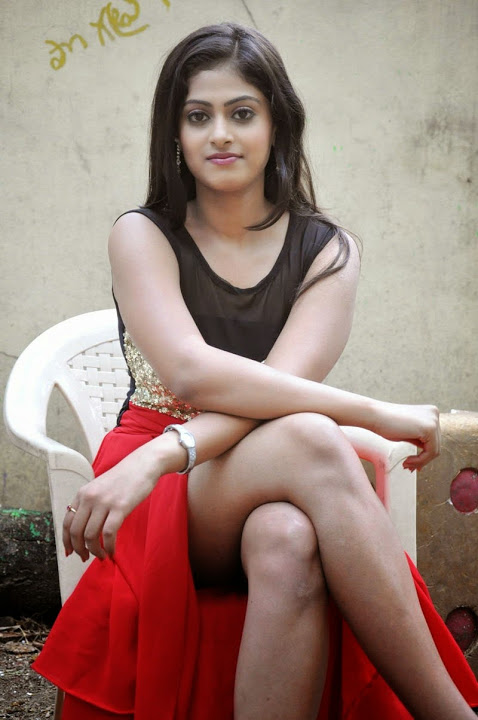 Megha sri red dress pictures