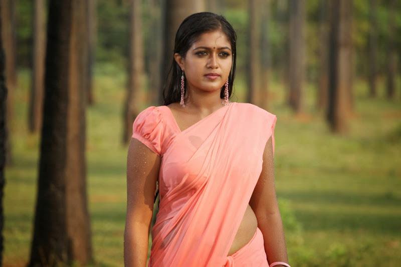 Meghna raj pink saree pictures