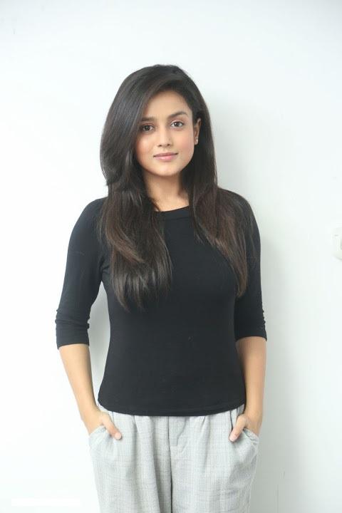 Mishti chakraborty black dress cute photos