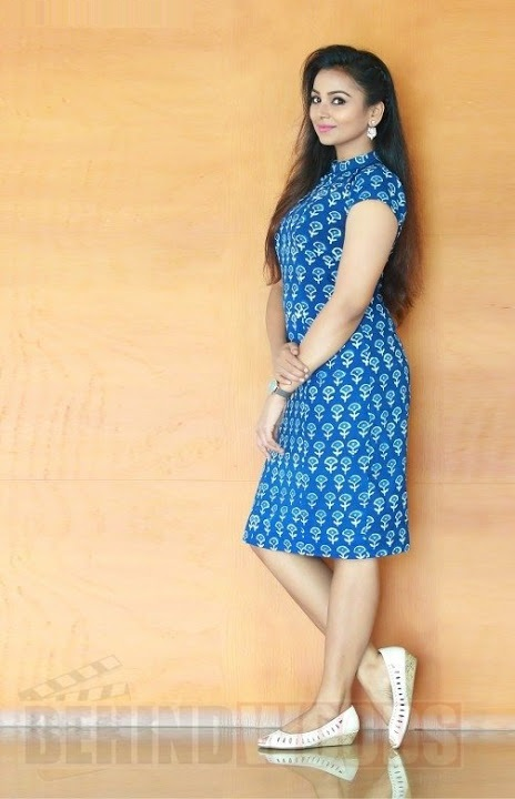 Mridula murali blue dress pictures