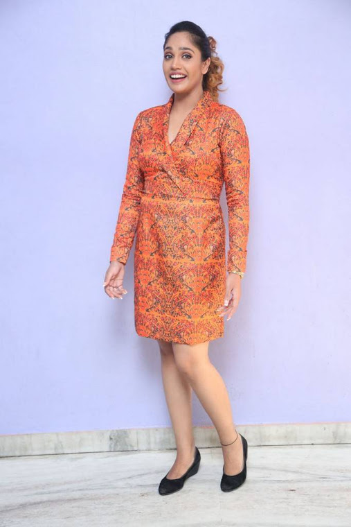 Mumtaz sorcar orange coor dress fashion photos