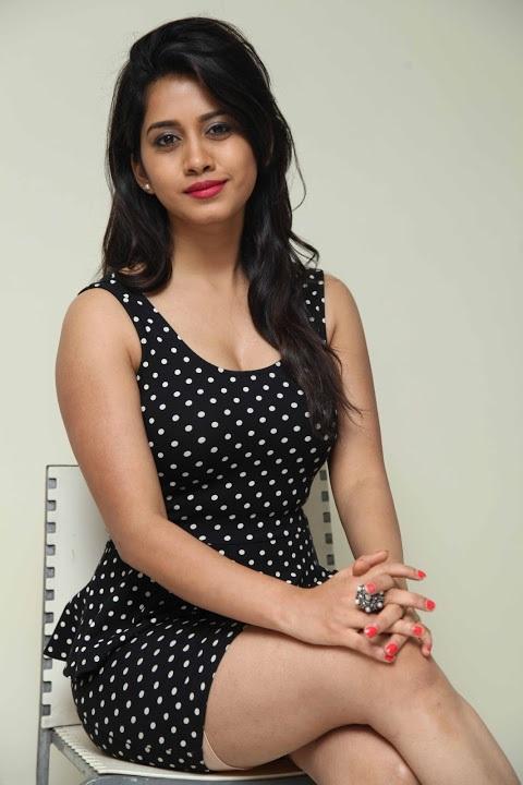 Nabha natesh black dress figure pictures