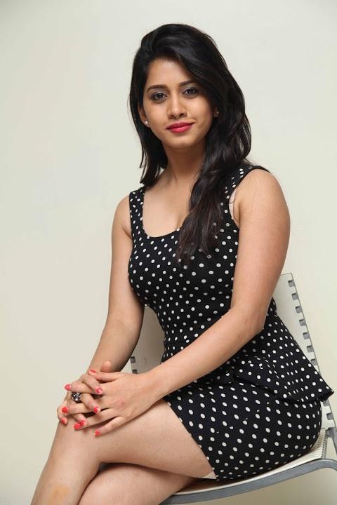 Nabha natesh black dress photoshoot pictures