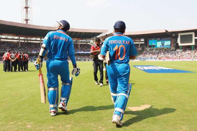 Sachin sehwag batting stills