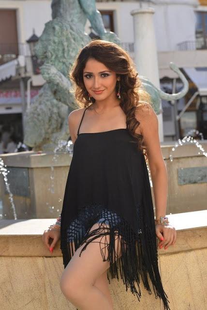 Sayyeshaa saigal actress smile pose fotos