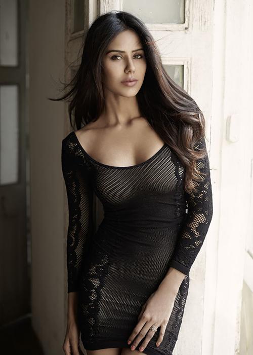 Sonam bajwa black dress photos