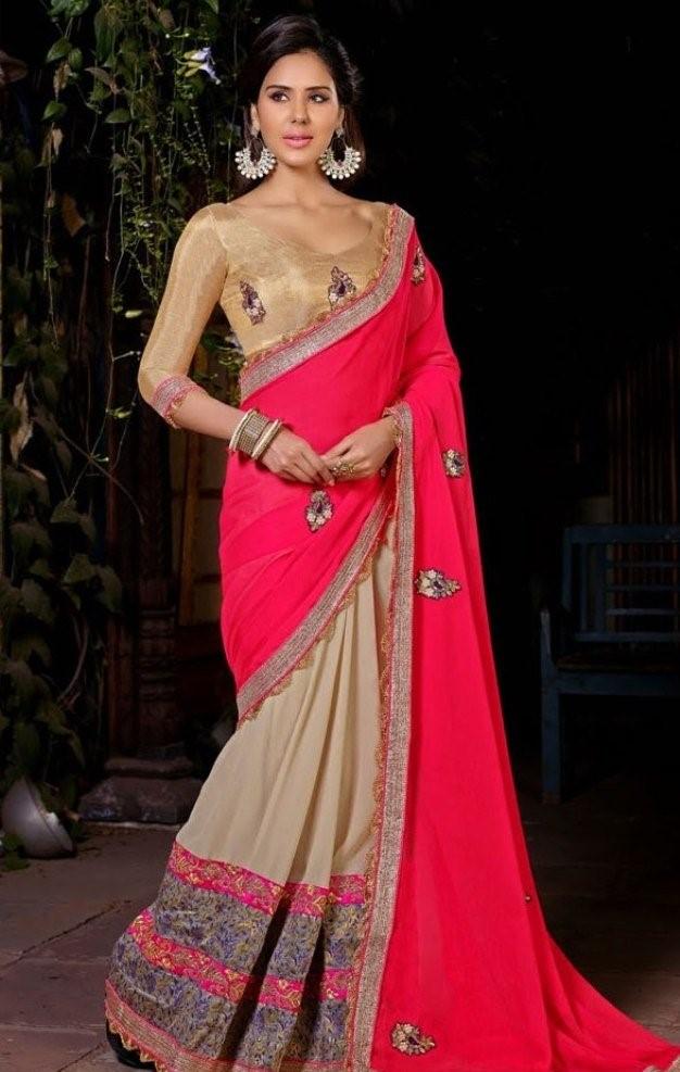 Sonam bajwa half saree pictures
