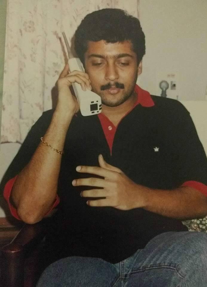 Suriya old rare image