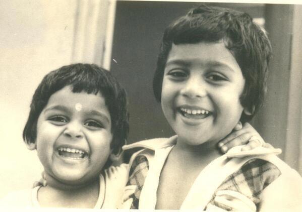 Surya and karthi rare childhood pictures