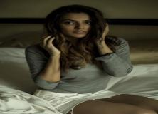 akshara gowda gray dress pictures