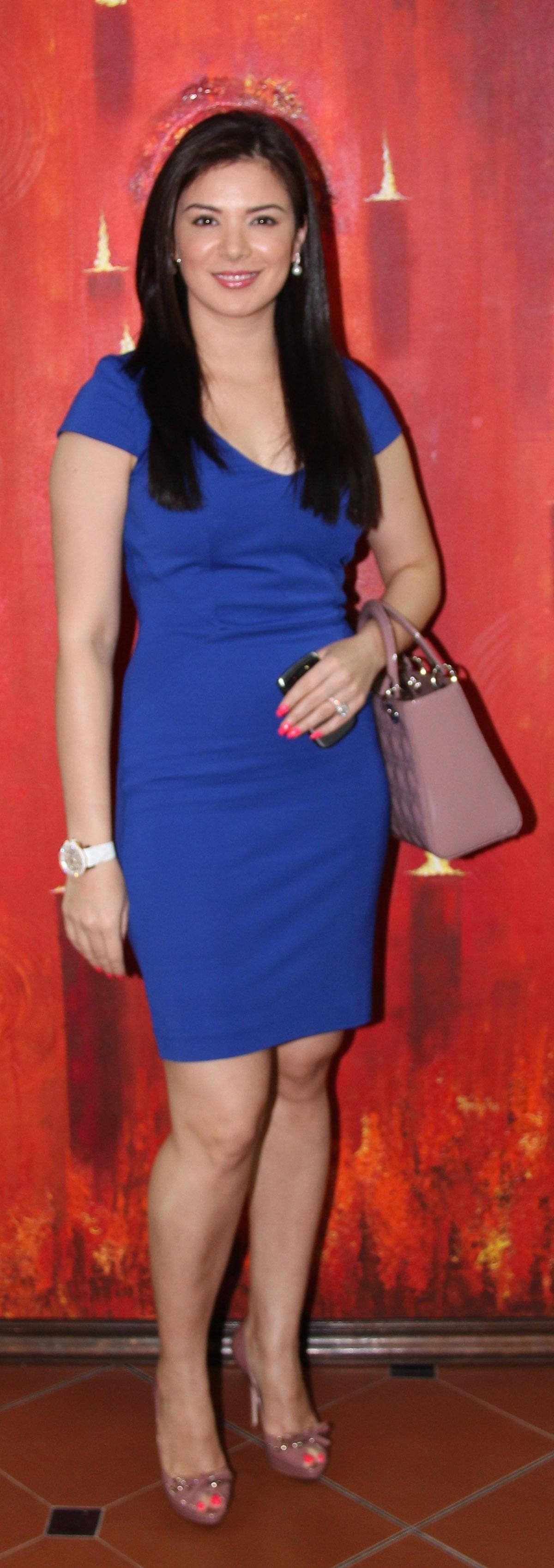 Urvashi sharma mini dress photos