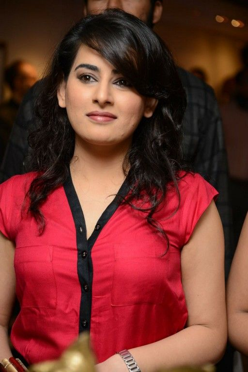 Veda sastry red dress photos