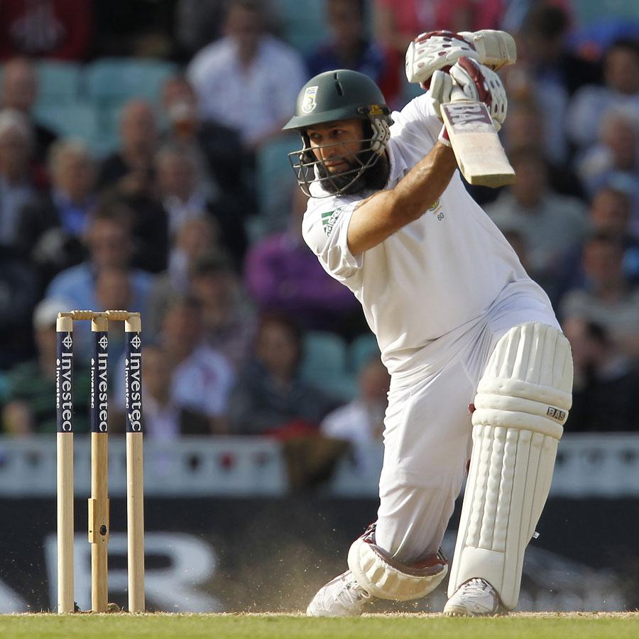 Cricketer amla test match batting stills