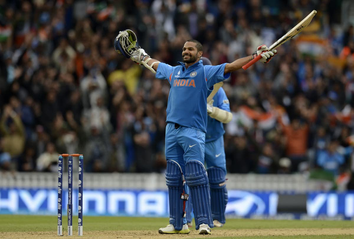 Shikhar dhawan hundred runs stills