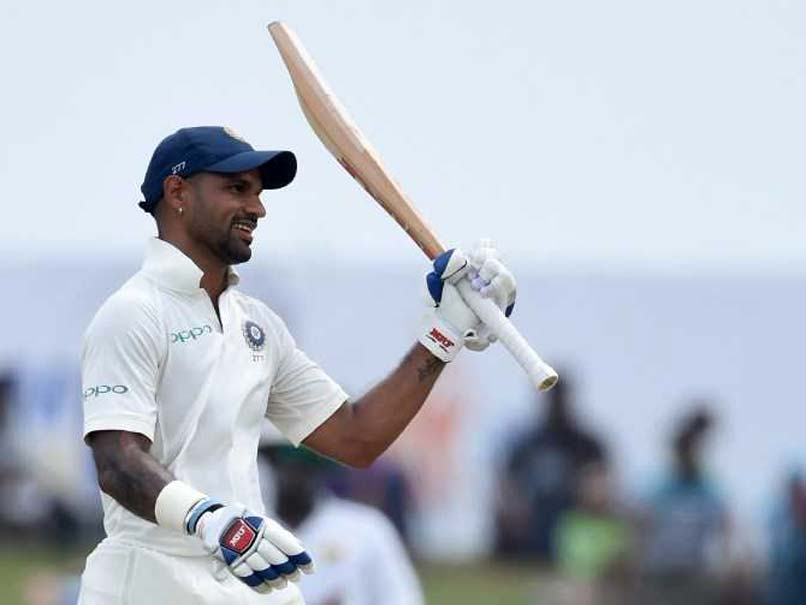 Shikhar dhawan test match wallpaper