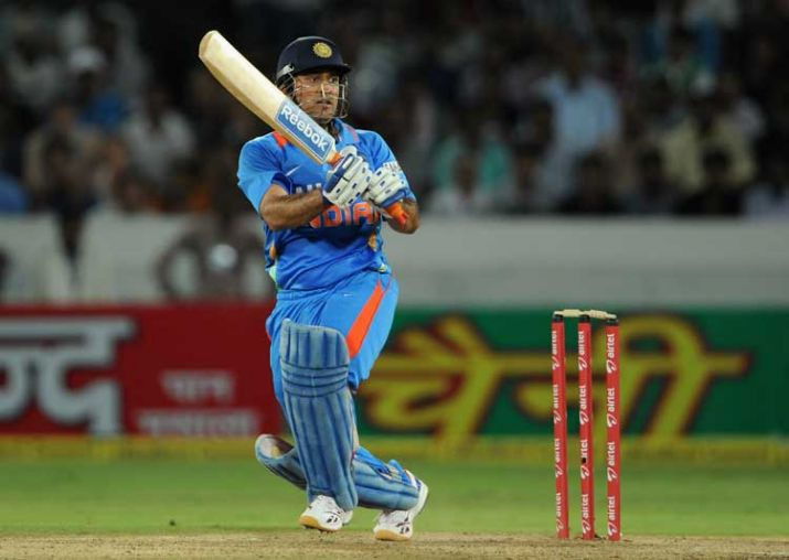 Dhoni helicopter shot one day cricket photos