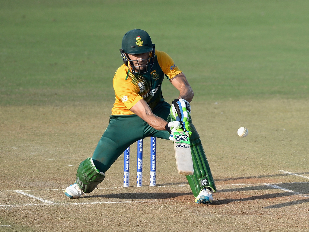 Faf du plessis batting photos