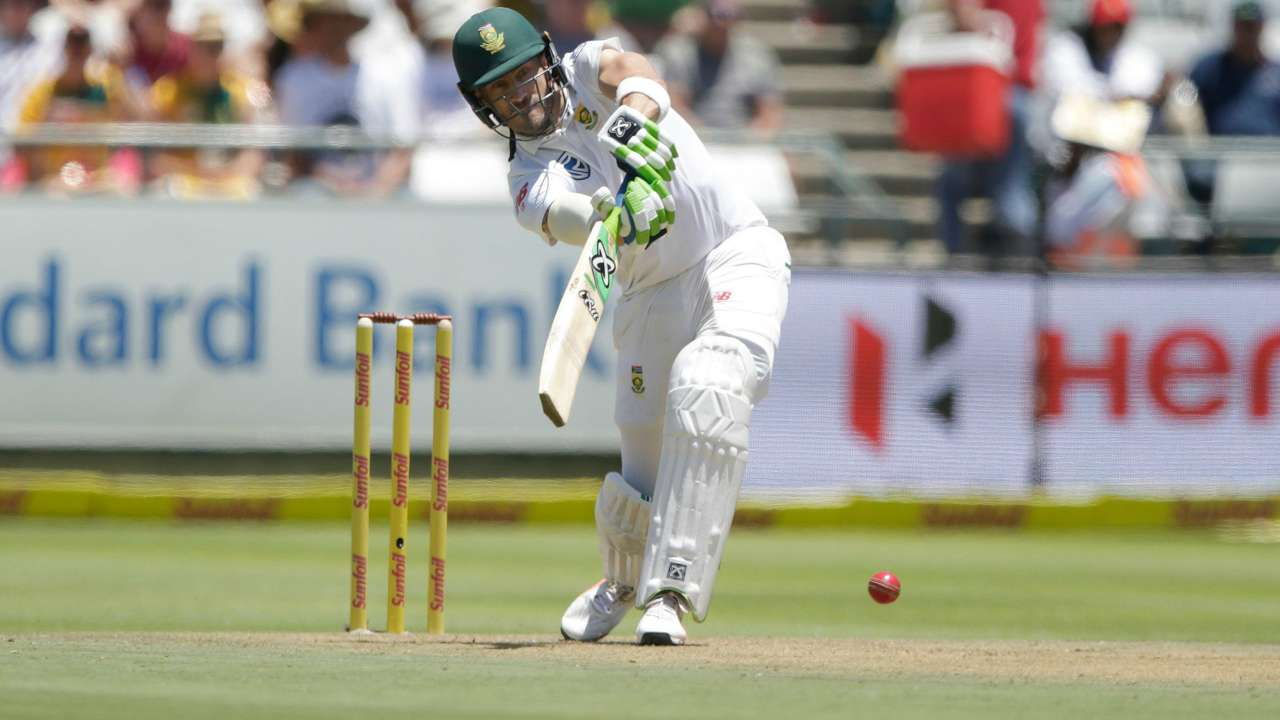 Faf du plessis test match photos