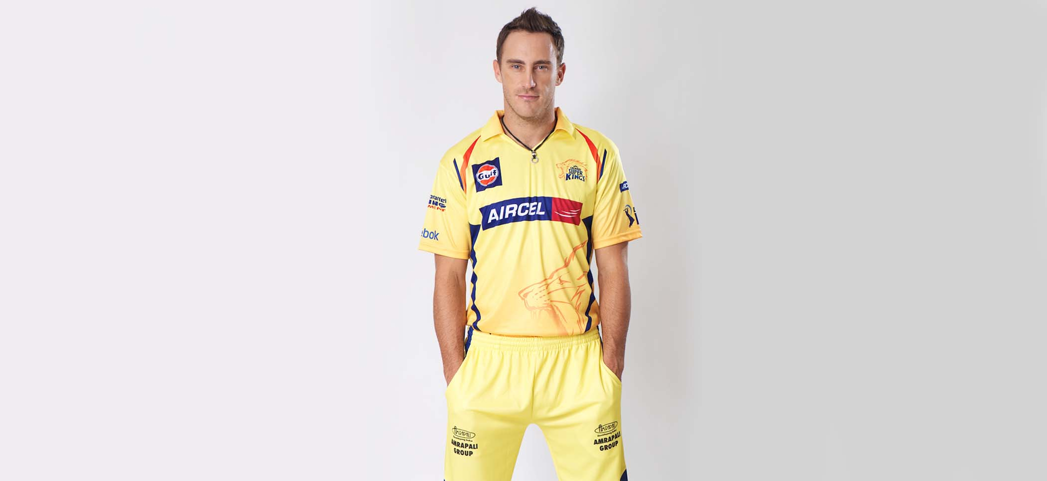 Faf du plessis yellow dress photos