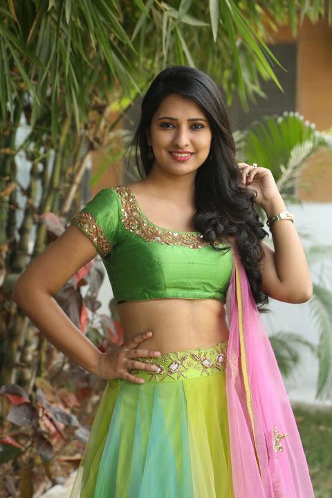 Nikita bisht green dress beautiful photos