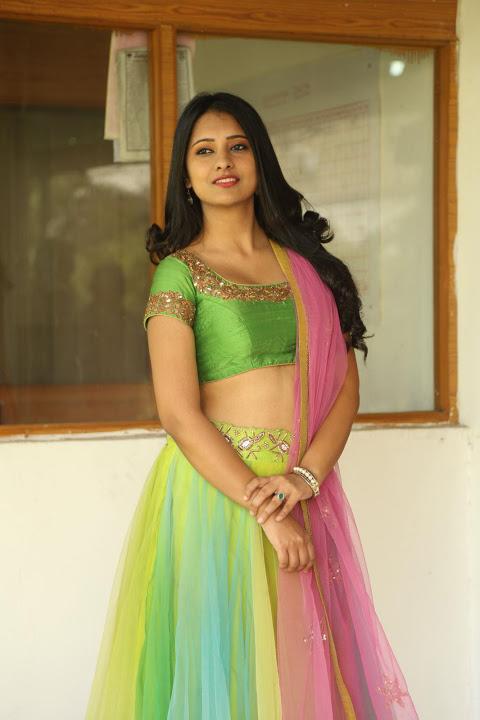 Nikita bisht green dress glamour stills