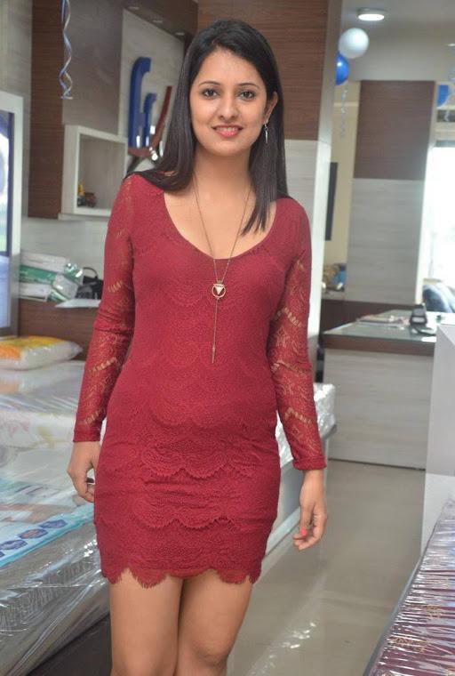 Nikita bisht red dress exclusive image
