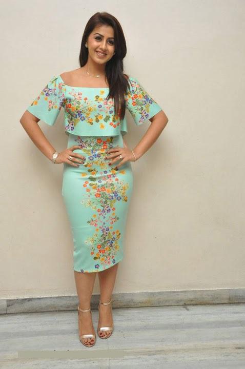 Nikki galrani light green color dress glamour wallpaper