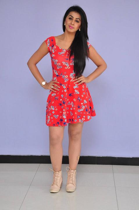 Nikki galrani midi dress movie promotion gallery