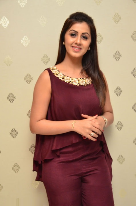 Nikki galrani purple color dress filmfare awards image