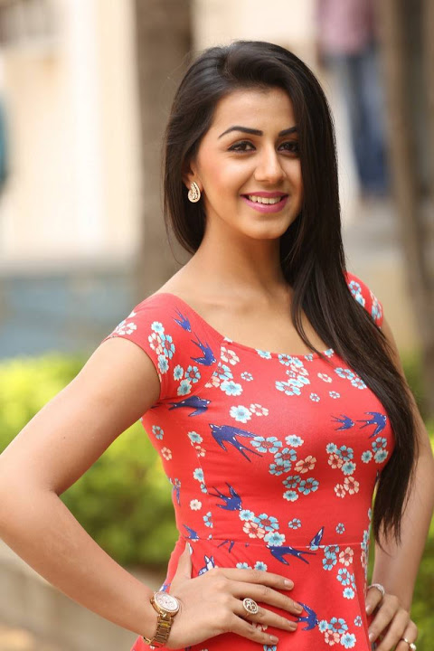 Nikki galrani red dress hot fashion image