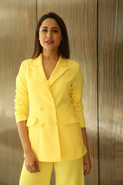 Pragya jaiswal yellow dress journal pictures
