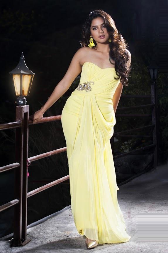 Tanya hope yellow dress hot photos