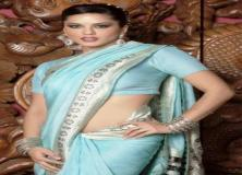 sunny leone saree photos