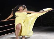 tanya hope yellow dress pictures