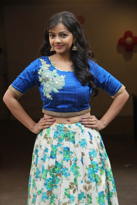 Nithya shetty interview blue dress pictures