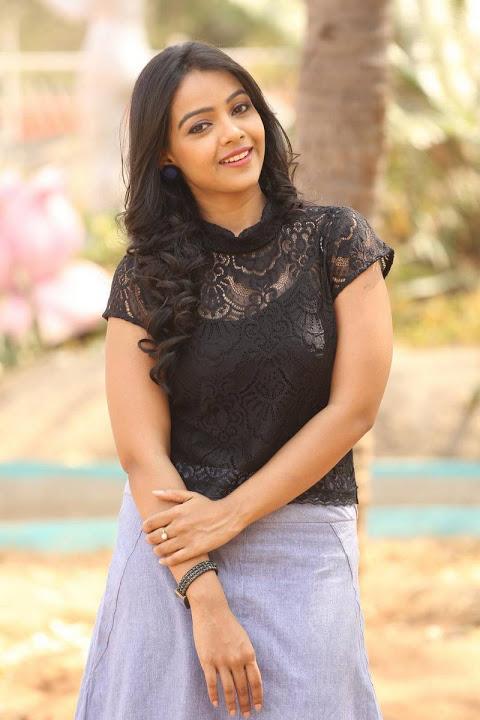 Nitya shetty black dress exclusive image