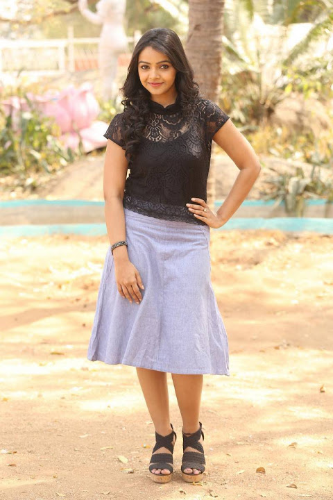 Nitya shetty press meet photos
