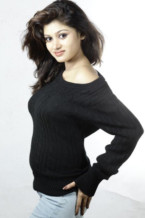 Oviya helen black dress pictures