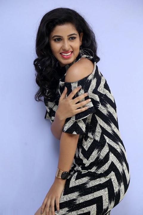 Pavani lavanya photoshoot black dress pictures