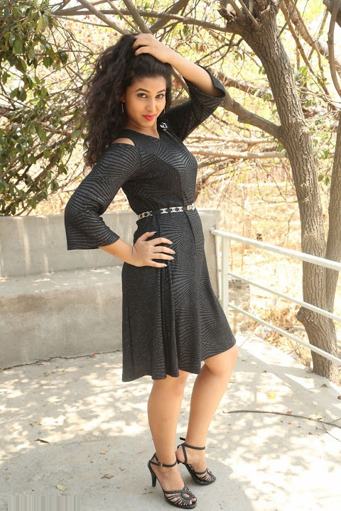 Pavani reddy black dress exclusive hd stills