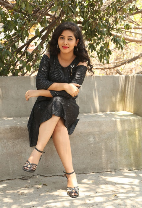 Pavani reddy exclusive black dress hd photos